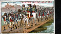 CHROMOS CHOCOLAT GUERN BOUTRON - N°80 EPISODE DES GRANS CAPITAINES - HOCHE - Guérin-Boutron