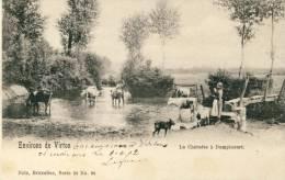 Dampicourt - La Chératte - Vaches S'abreuvant ... - Série Nels ( Voir Verso ) - Rouvroy