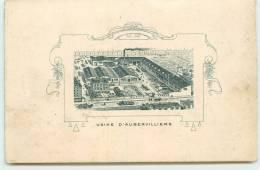 AUBERVILLIERS  - Etablissements Quervel Frères; 35-37 Rue Du Port. - Aubervilliers