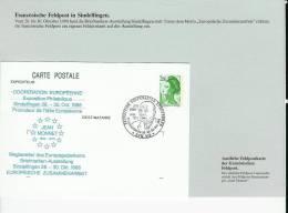 """Bund 1988:  FFranzösiche Feldposkarte """"Sindelfingen 1988""""  (C022) - BRD"""