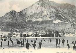 REPRODUCTION ///  LAC D'ANNECY PENDANT L'HIVER DE 1890 - Annecy