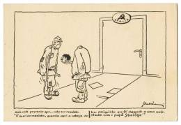 Humour STALIN Carte Postale - Humor