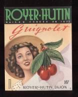 Etiquette  De Guignolet   -   Royer Hutin à  Dijon  (21) - Labels
