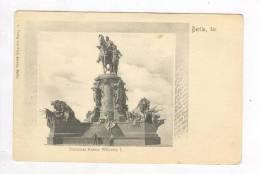 Denkmal Kaiser Wilhelm, Berlin, Germany, 1890s - Ohne Zuordnung