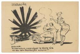 Humour Insolation ROOSEVELT Et Le Japon Carte Postale - Humor