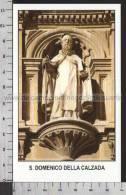 Xsa-10773 S. San DOMENICO DELLA CALZADA VALVANERA Santino Holy Card - Religion & Esotericism