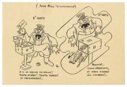 Humour JOHN BULL L'Illusionniste Carte Postale - Humor