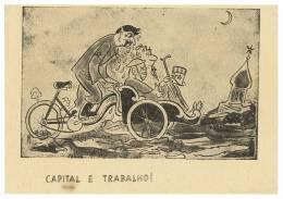 Humour Capital Et Travail Carte Postale - Humor