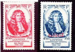 779 Marquis De Louvois  Et 779 Surcharg Algerie - Francia