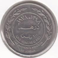 @Y@      Jordanië   100 Fils   1978    (2142) - Jordanie