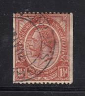 South Africa Used Scott #19 1 1/2p George V  Coil - Oblitérés