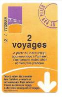 TITRE DE TRANSPORT...BUS...2 Voyages Du Réseau De METZ..TCRM...TICKET Validé...+ AutreS TicketS Autre Réseau KDO - Bus