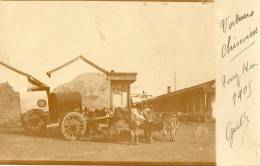 CHINE Carte Photo Attelages 1905 - Chine