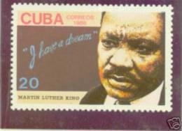 CUBA/KUBA 1986  X ANIV. DE LA MUERTR DE MARTIN LUTHER KING MNH - Non Classificati