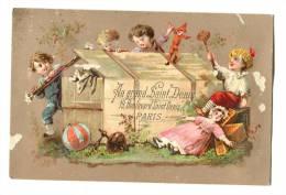 Chromo Au Grand St Denis - Trade Cards