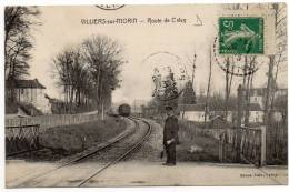 VILLIERS SUR MORIN - Route De Crécy / Chemin De Fer, Train, Passage à Niveau - Otros Municipios