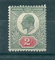 Great Britain, UK, 1902, Edward VII, 2d. MNH, SG 225 - Neufs