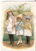 CR491-Chromo  14x10- Début 1900 -  Enfants Aux Jouets - Andere