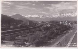 Chile Santiago Real Photo Vintage Ca1930 Original Postcard Cpa Ak (W3_1047) - Chile
