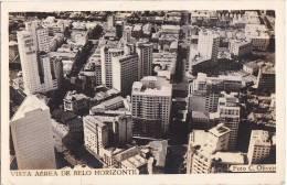 Belo Horizonte Air Mail Vintage Original Photo Postcard Cpa Ak (W3_1061) - Belo Horizonte
