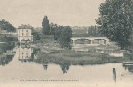 25.Besançon Pont St Pierre Et Moulin St Paul - Besancon