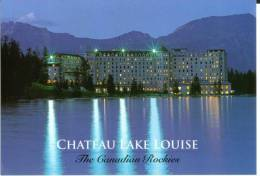 Canada  Château  Lake Louise  The Canadians Rockies (discovered By Tom Wilson Outfitter Rockies 1882) BE - Lac Louise