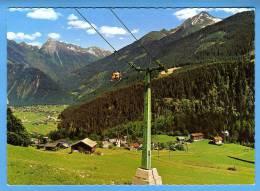 Österreich; Tirol Finkenberg Blick Von Der Almbahn Geg Mayrhofen Mit Brandbergkolm Und Ahornspitze - Ohne Zuordnung