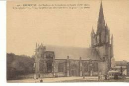 56-HE-8 Hennebont La Basilique Notre Dame 440 Laurent Nel (avec Monument Aux Morts)