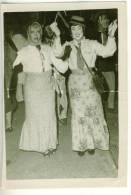 """Mini-photo Carnaval COUIZA ( Aude) Couple Femmes """"Gitanas"""" """"légèreté Et élégance"""" 1960 état Moyen - Lieux"""