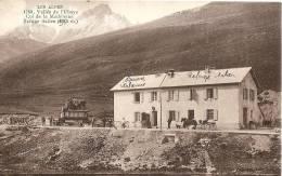 Cpa   Vallée De L'Ubaye  Col De La Madeleine Le Refuge Italien  La Douane - France
