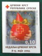 REPUBLIQUE SERBE DE BOSNIE (PALE) - CROIX-ROUGE 2004 - NEUF ** - YT 17a - MI 14B - NOIN-DENTELE - Bosnie-Herzegovine