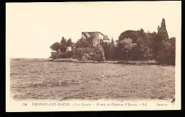 74 THONON LES BAINS / Le Lac Léman, Pointe Et Château D'Yvoire / - Thonon-les-Bains