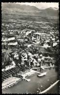74 THONON LES BAINS / Vue Aérienne Sur Le Port, La Ville Et Les Monts Du Chablais / - Thonon-les-Bains