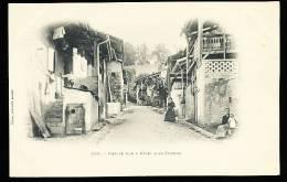 74 THONON LES BAINS / Vieille Rue à Rives Sous Thonon / - Thonon-les-Bains
