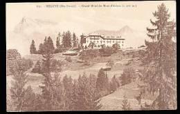 74 MEGEVE / Grand Hôtel Du Mont D'Arbois / - Megève