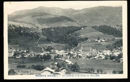74 MEGEVE / Vue Générale Et La Chaîne Du Mont Joly / - Megève