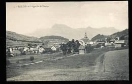 74 MEGEVE / Vue Générale Et L'Aiguille De Varens / - Megève