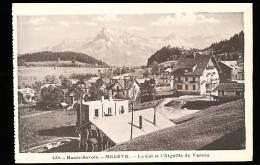 74 MEGEVE / Le Col Et L'Aiguille De Varens / - Megève