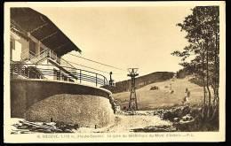 74 MEGEVE / La Gare Du Téléférique Du Mont D'Arbois / - Megève