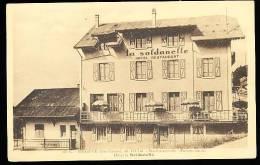 74 MEGEVE / Hôtel La Soldanelle / - Megève