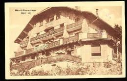 74 MEGEVE / Hôtel Hermitage / - Megève
