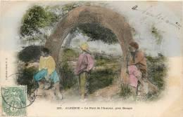 ALGERIE LE PONT D'AMOUR PRES BOUGIE COLLECTION P.S. VOYAGEE EN 1906