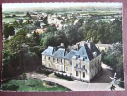 L'AIGUILLON SUR VIE  / LE CHATEAU  / JOLIE CARTE PHOTO AERIENNE / 1964 / LAPIE - Autres Communes