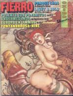 REVISTA FIERRO - JUNIO DE 1988 - EROTIQUE EROTICA EROTICS - EDICIONES DE LA URRACA ARGENTINA TBE 92 PAGES - Magazines & Newspapers