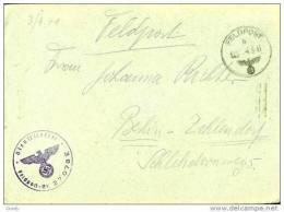 GERMANY 1941 FELDPOST 27078E BERLIN - Briefe U. Dokumente