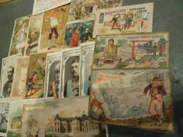 LOT De 18 PUBLICITES ANCIENNES Dont Chocolat - Publicité