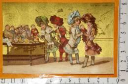 Chromo Fin 19°/ Au Bon Marché / Maison Aristide Boucicaut / Testu 34a / Enfant Fille Poupée Pantin Jouet - Au Bon Marché