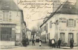 21 PONTAILLER SUR SAONE - RUE PRIEURE ( HOTEL ST NICOLAS - ANIMEE ) - Unclassified