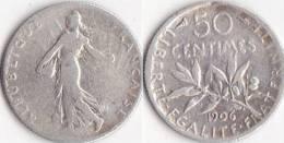 SEMEUSE * 50 Centimes 1906 - Troisième République (1871-1940) - France