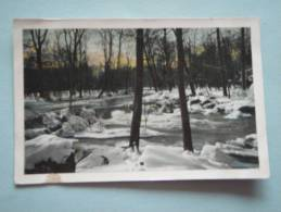 26183 POSTCARD: Unknown Location - Snow Scene - Probably Foreign. - Postcards
